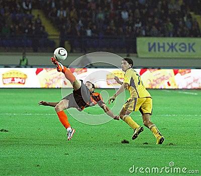 Metalist Kharkiv vs Shakhtar football match Editorial Stock Photo