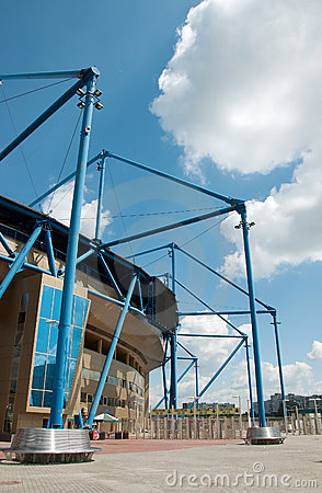 Metalist Stadium, Kharkov, Ukraine Editorial Stock Photo
