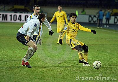 Metalist vs. Metallurg Donetsk football match Editorial Photography