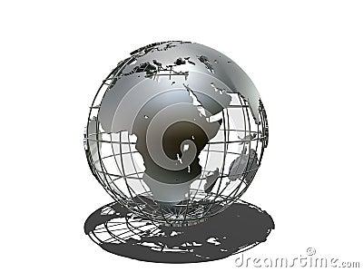 Metall globe