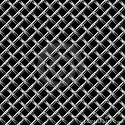 Metall net seamless pattern.