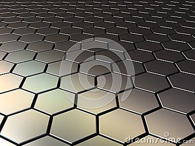 Metall pattern