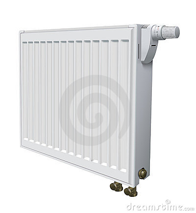 Metall radiator for panel heating of house