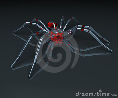 Metall spider.