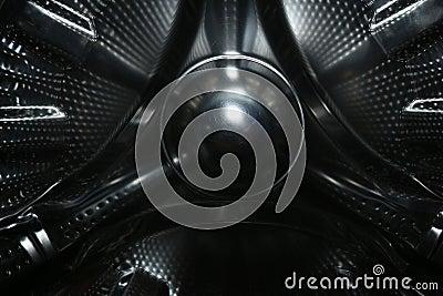 Metallic alien ship