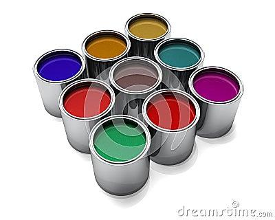 Metallic Automotive Paints
