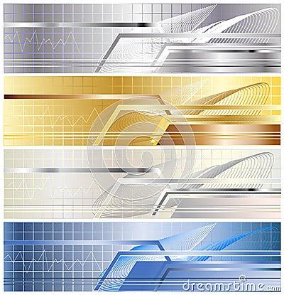 Free Metallic Banner Stock Image - 7337421
