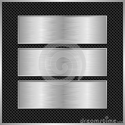 Free Metallic Banners Stock Images - 42990674
