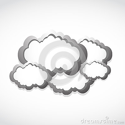 Metallic clouds concept