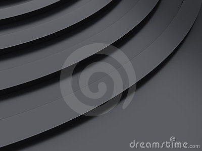Metallic curve background