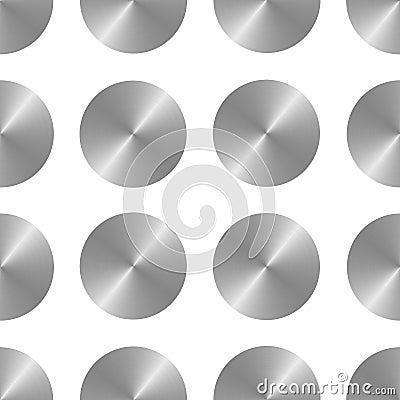 Metallic gray disks