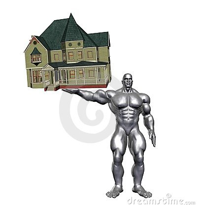 Metallic Hercules Victorian House
