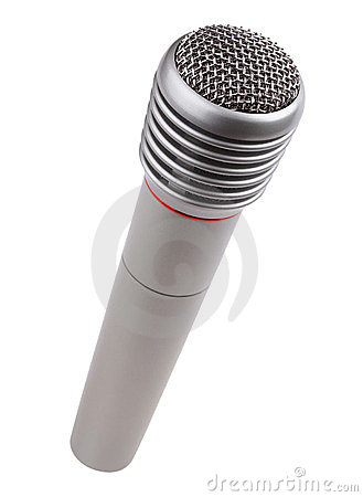 Metallic microphone