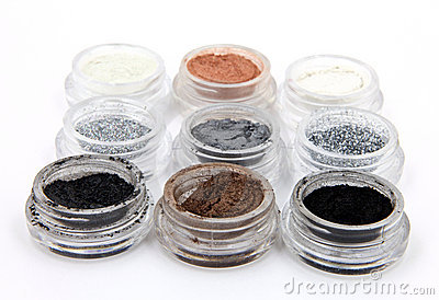 Metallic Mineral Powder Cosmetics