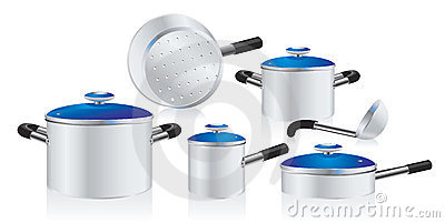 Metallic pans