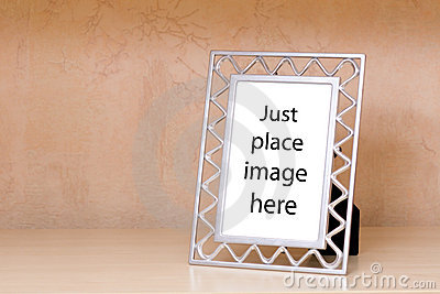 Metallic photo frame