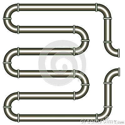 Metallic pipe