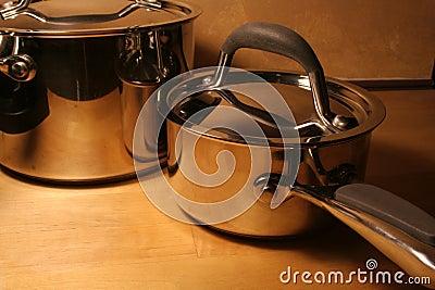 Metallic Pots