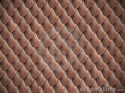 Metallic scales background