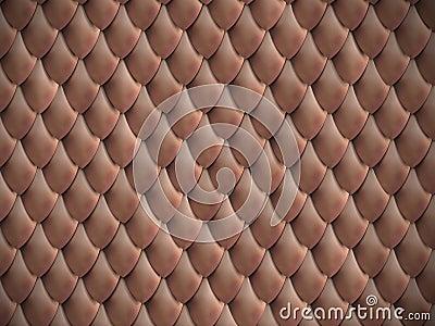 Metallic scales background