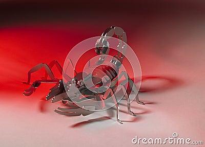 Metallic scorpion