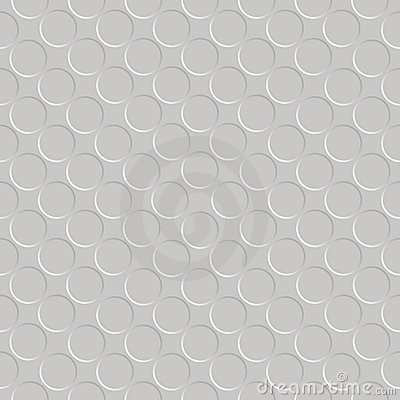 Metallic seamless circle pattern