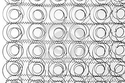 Metallic springs