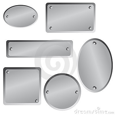 Free Metallic Tags Royalty Free Stock Image - 13024776