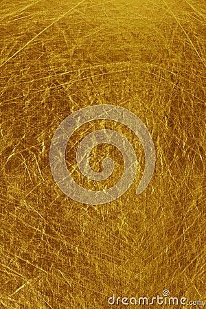 Metallic textured gold background