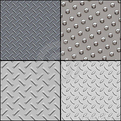 Metallic textures collection