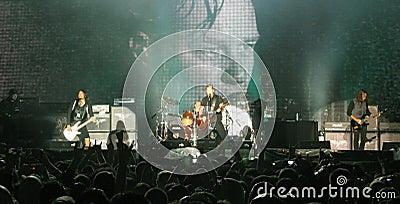 Metallica on Tour Editorial Photography