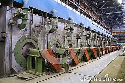 Metallurgy, plant internal view