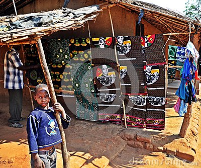 Metarica Market - Niassa Mozambique Editorial Photography