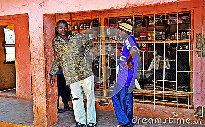 Metarica Shop - Niassa Mozambique Editorial Stock Image