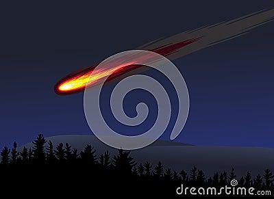 Meteor or fireball
