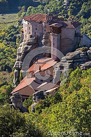 Meteora, Holy Monastery Of Rousanou St. Barbara, Greece ...