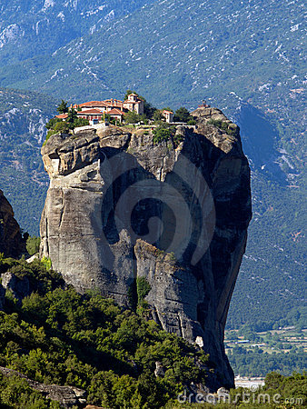 Free Meteora Monastery Royalty Free Stock Photos - 5804328