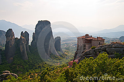 Meteora and The Monastery of Rousanou