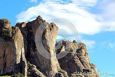 Meteora rocks and monasteries in Greace