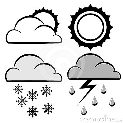 Meteorology icons