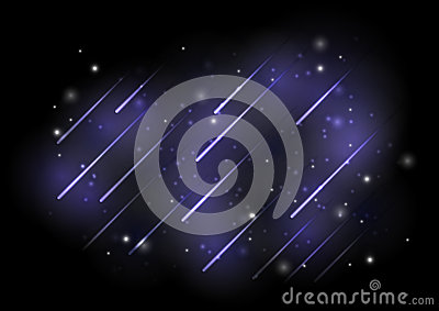 Meteors lights