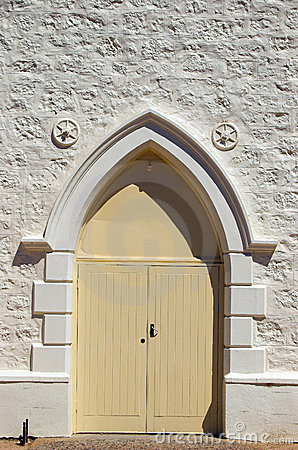 Free Methodist Church Door Stock Photo - 628680