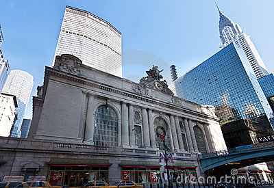 Metlife Chrysler GrandCentral Station New York Editorial Image