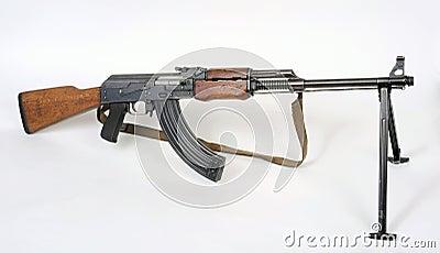 Metralhadora jugoslava do pelotão M72B1.
