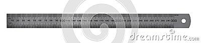 Metric Steel Ruler