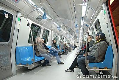 Metro Editorial Image