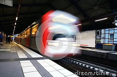 Metro departure