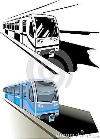 Metro fast train