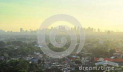 Metro Manila suburb