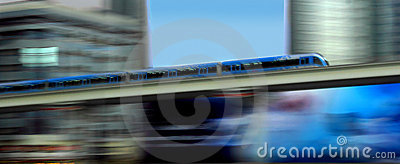 Metro in motion